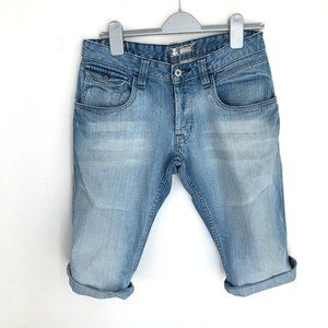H&M men's button fly jean shorts W31